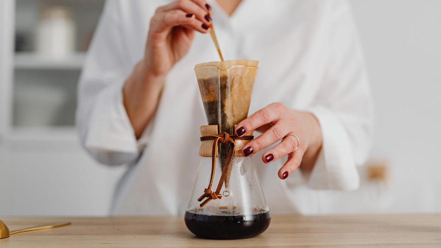 Alternatív kávékészítés