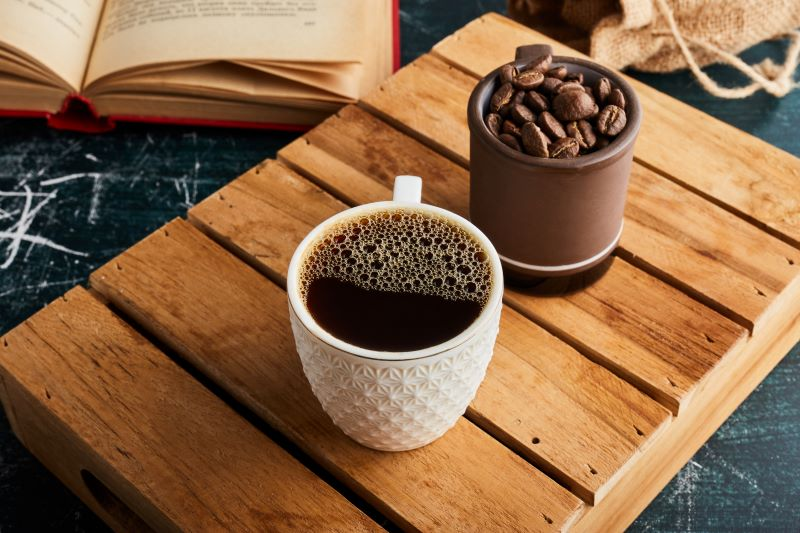 Az americano a lungonál is több vízzel készülő kávé típus